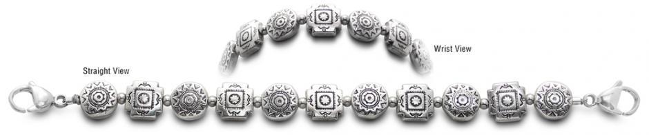 Designer Bead Medical Bracelets Talavera Nueva 2214