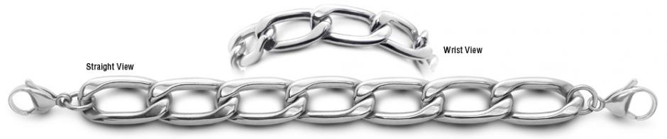 Designer Stainless Medical Bracelets Regina Marmolada 2243
