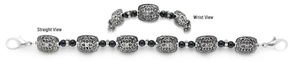 Designer Bead Medical Bracelets In the Antiquity 3754