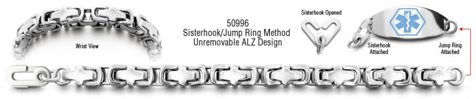 Alzheimers Medical ID Bracelet Set Torino 50996