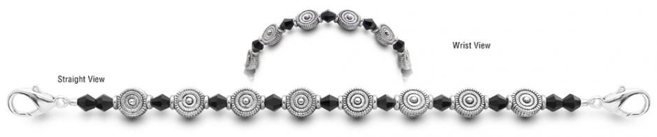 Designer Bead Medical Bracelets In the Right Circles 9624