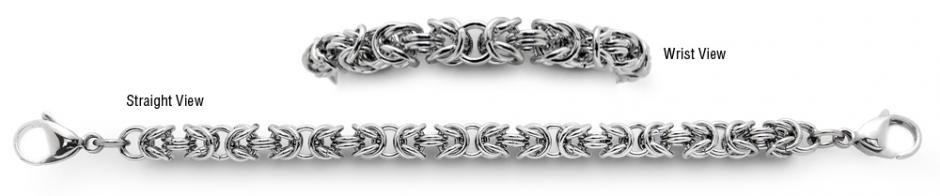 Designer Stainless Medical Bracelets Bigiu Di Arezzo 1306