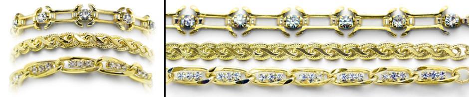 Designer Gold Medical Bracelet Set Golderado 2029
