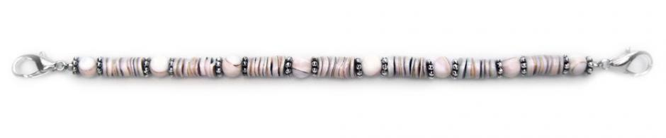 Designer Bead Medical Bracelets Coral Beach 0417