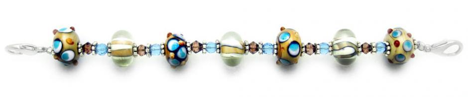 Designer Bead Medical Bracelets Warm and Funky 0777