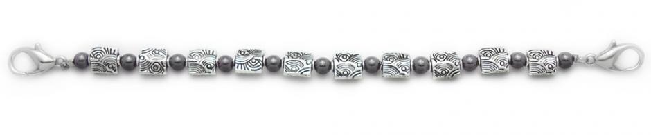 Designer Bead Medical Bracelets Midnight Sunshine 0938