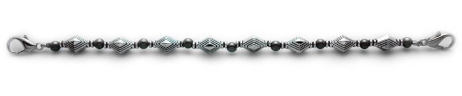 Designer Bead Medical Bracelets Diamond Trance 1070