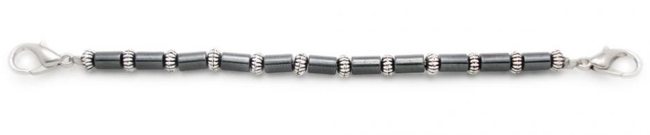 Designer Bead Medical Bracelets Single File in Style 1190