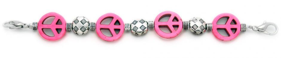 Designer Bead Medical Bracelets Peaceful World I 1203