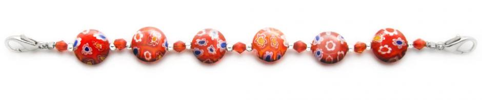 Designer Bead Medical Bracelets Sunset Player 1277