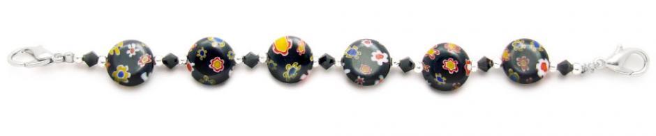 Designer Bead Medical Bracelets Midnight Player 1279