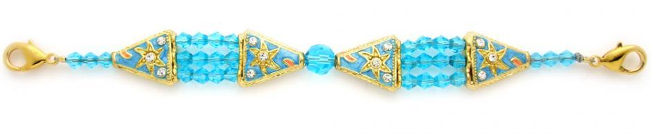 Designer Crystal Bead Medical Bracelets A Star is Born 1293