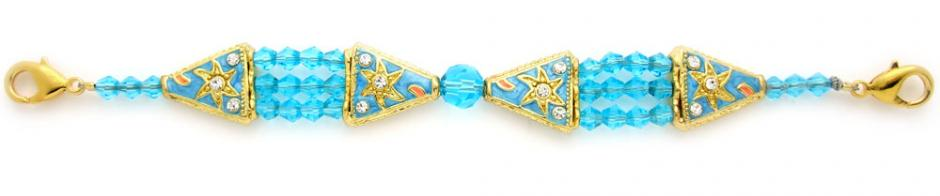 Designer Crystal Bead Medical Bracelets A Star is Born 1293