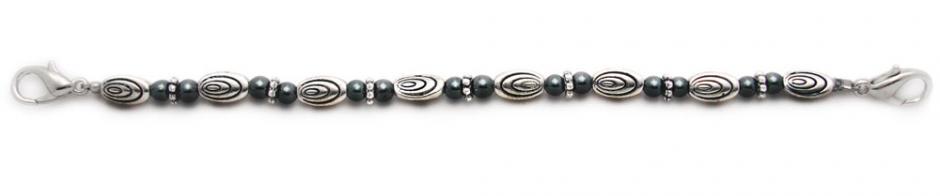 Designer Bead Medical Bracelets OMG Ovals II 1295