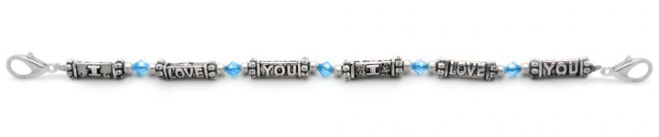 Designer Bead Medical Bracelets I Love You 1446