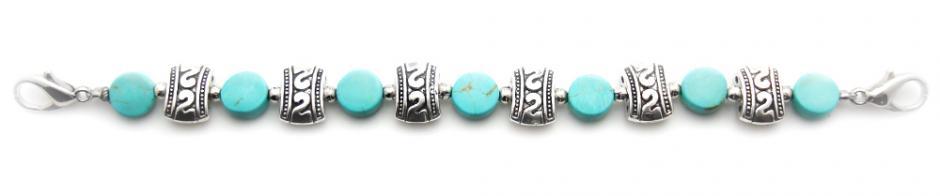 Beaded Medical Bracelets Buffalo Aqua Perfection 1511