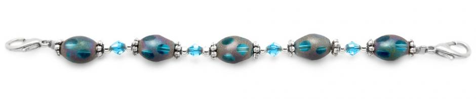 Beaded Medical Bracelets Fabulous Frosted Fantasy 1534