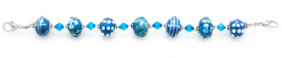 Medical ID Bracelet 1574 Aqua Bonanza, Medical Bracelets