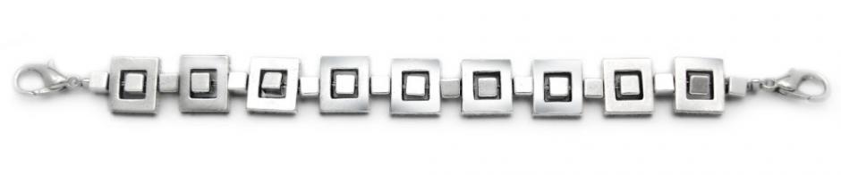 Designer Bead Medical ID Bracelets Square Connections 1585