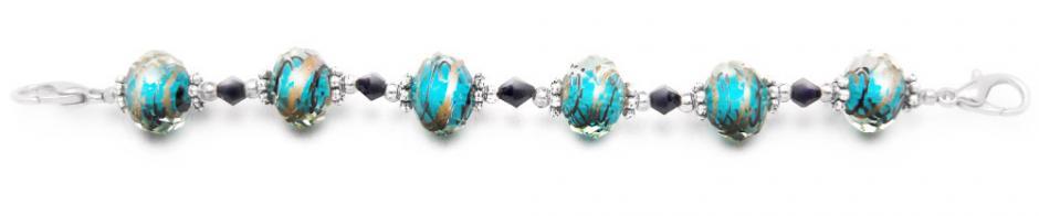 Designer Bead Medical Bracelets Sizzle II 1798