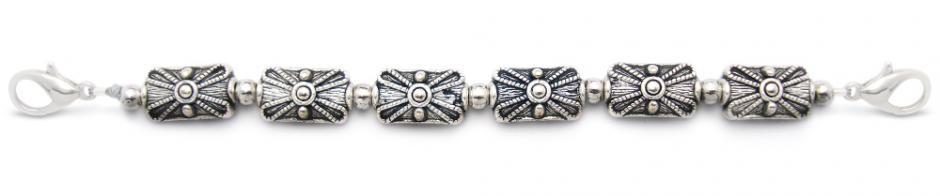 Designer Bead Medical Bracelets Silver Generations 1867