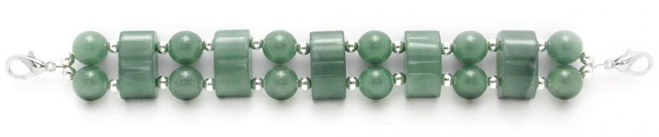 Designer Bead Medical Bracelets Domes of Jade Delight 1873
