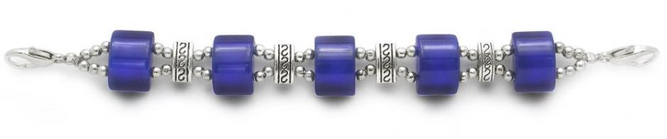 Designer Bead Medical Bracelets Mystique Deep Blue 1946