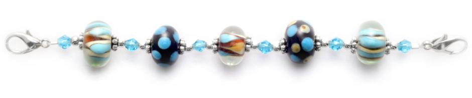Designer Bead Medical Bracelets Sea Side 9009