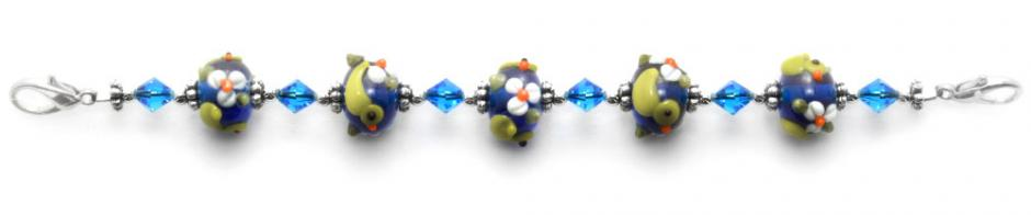 Designer Bead Medical Bracelets Ducks-in-a-Row 9011