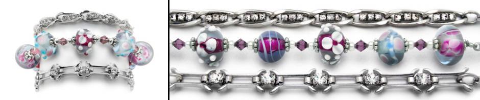 Designer Medical Bracelet Set Fascination 0868-S